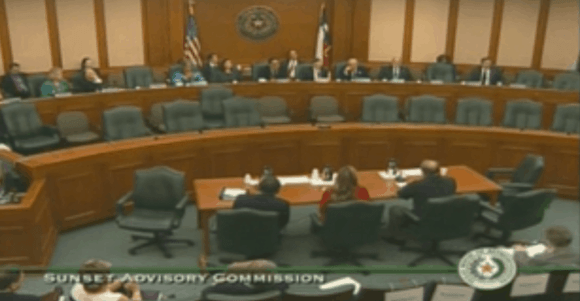 Video of Texas State Board of Dental Examiners Public