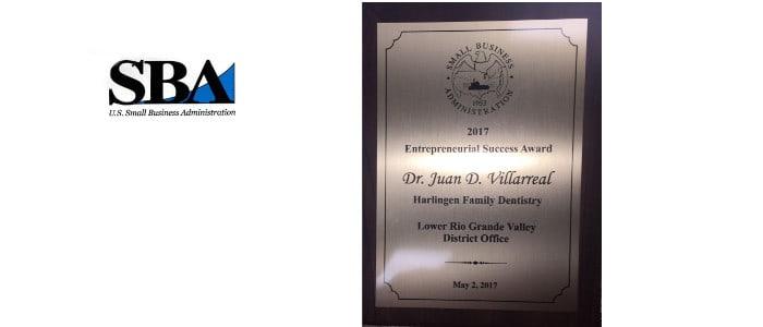 TDMR Founder Awarded SBA 2017 Entrepreneurial Success Award