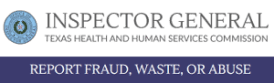 Report Fraud  Waste  or Abuse   OIG