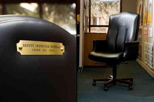 Jack Stick's $2,800 chair.