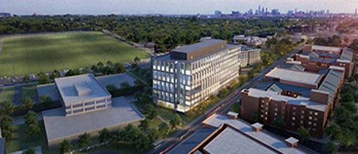 Rendering of new HHS Building