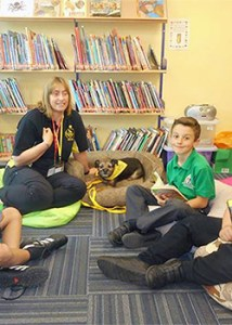 School Visit - Therapy Dogs Nationwide