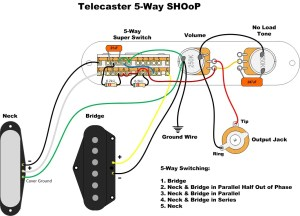 Needed: Bill Lawrence 5way wiring with series option