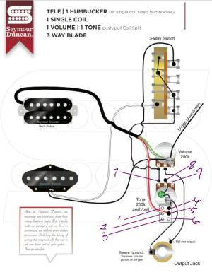 Wiring help for Neck Humbucker, Single coil Bridge , Phase