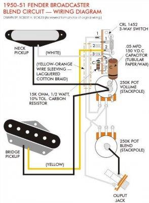Fender Broadcaster Wiring Diagram Fender Esquire Wiring Diagram Wiring Diagram ~ ODICIS