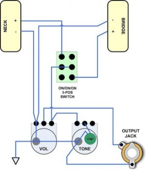P90 wiring diagram | Telecaster Guitar Forum