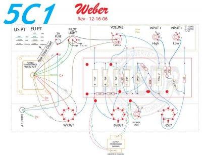 Fender Champ 5c1 Wiring Amp Power Transformer Question
