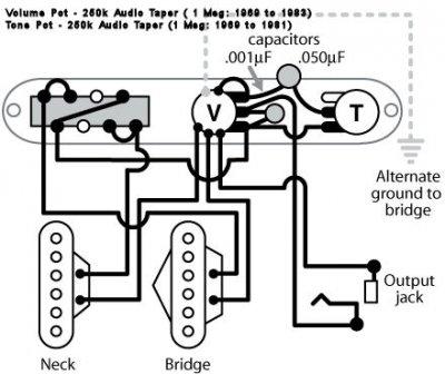 Classic Vibe 3 Way Switch Wiring