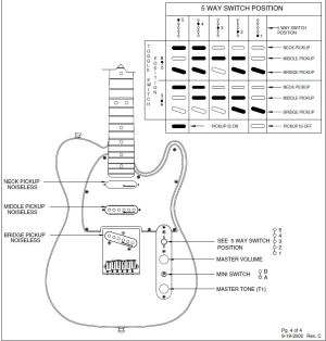 Nashville Deluxe Tele wiring question | Telecaster Guitar