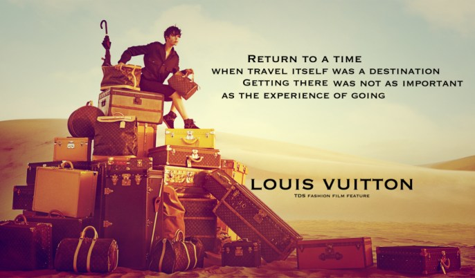 Louis Vuittion Spirit of Travel Ad Campaign