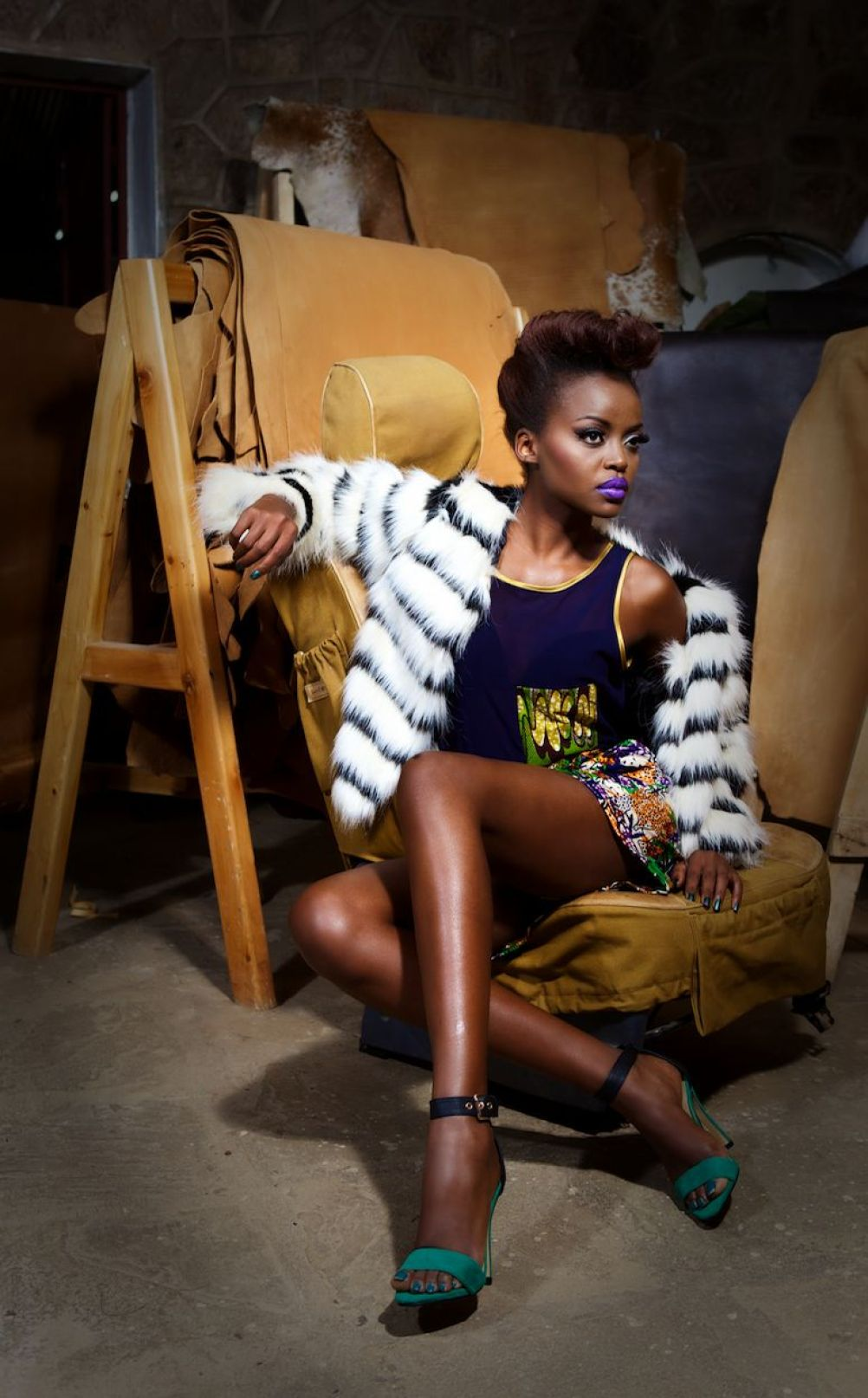 """ Like an artist painting on a canvas"" A word or two with Fashion Stylist Annabel Onyango"