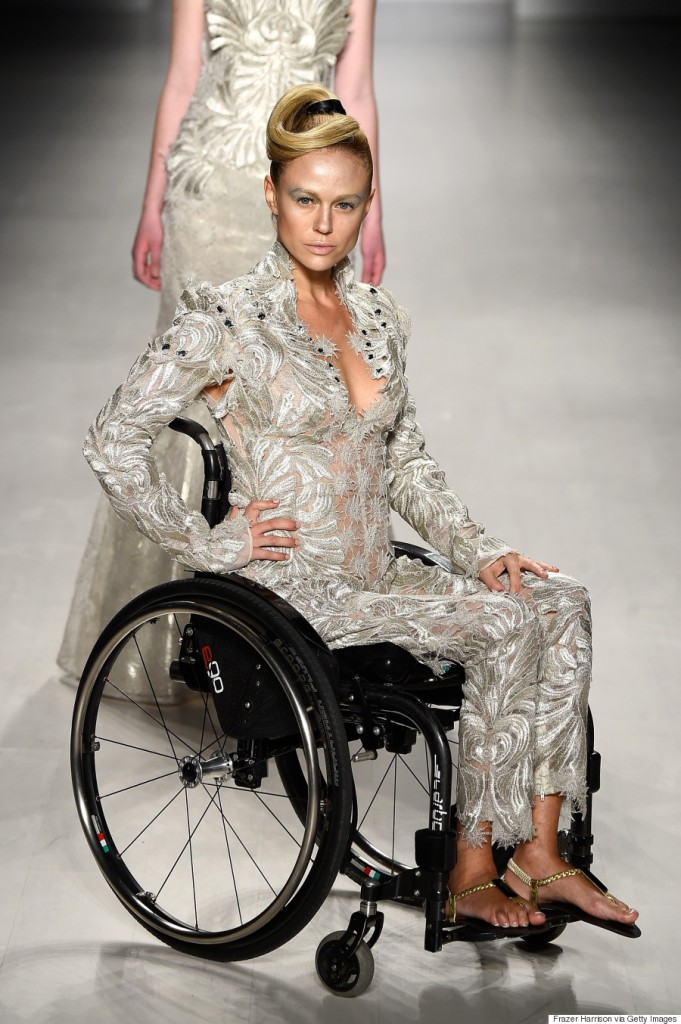 (Photo by Frazer Harrison/Getty Images for Mercedes-Benz Fashion Week)