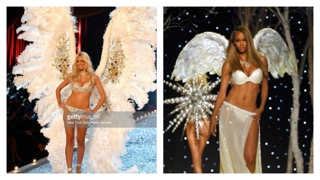Heidi Klum and Tyra Banks as Victoria's Secret Angels [Images: Getty Images / Victorias Secret]
