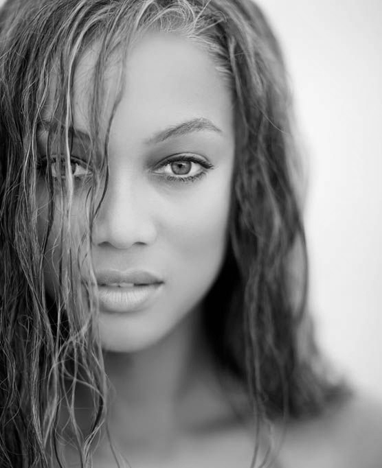 Tyra Banks Black And White: Here's Why We Need Models...