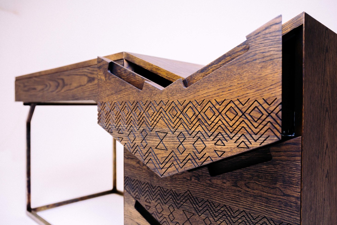 Images©Siyanda Mbele - bringing tradition into contemporary design
