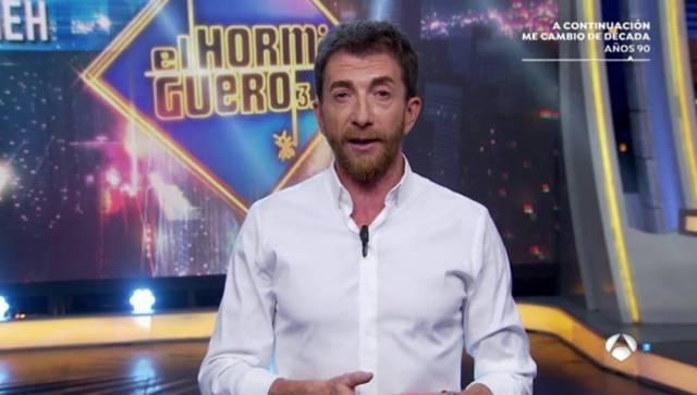 Pablo Motos recibe un fuerte puñetazo
