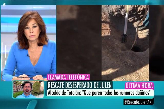 «Buitre», «Ave carroñera» o criticas a Ana Rosa Quintana por la cobertura del caso Julen