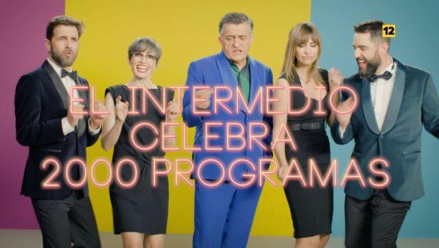 El Intermedio celebra los 2000 programas