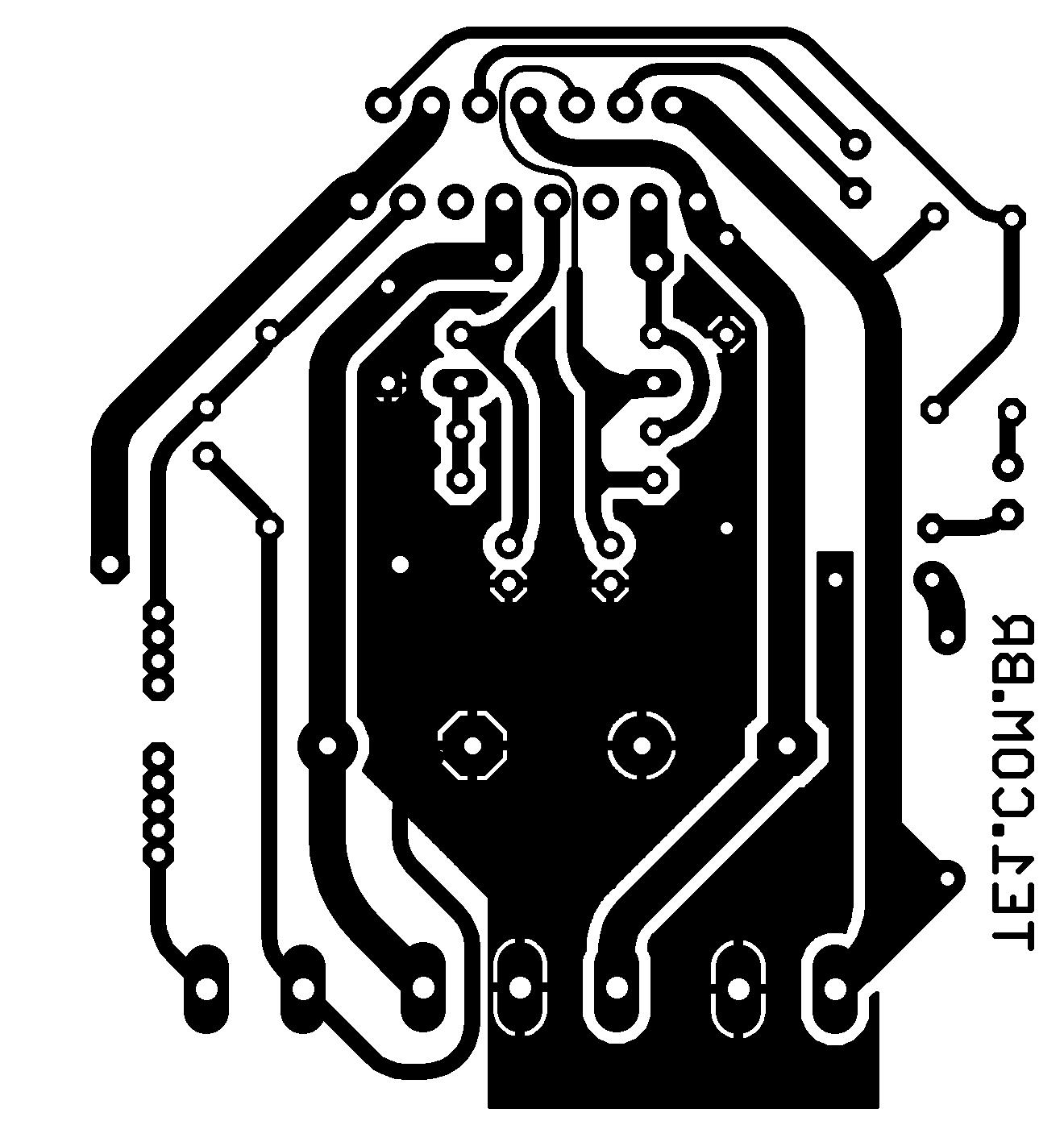 Circuito De Amplificador De Audio Potente Com Ci Tda 100 Watts