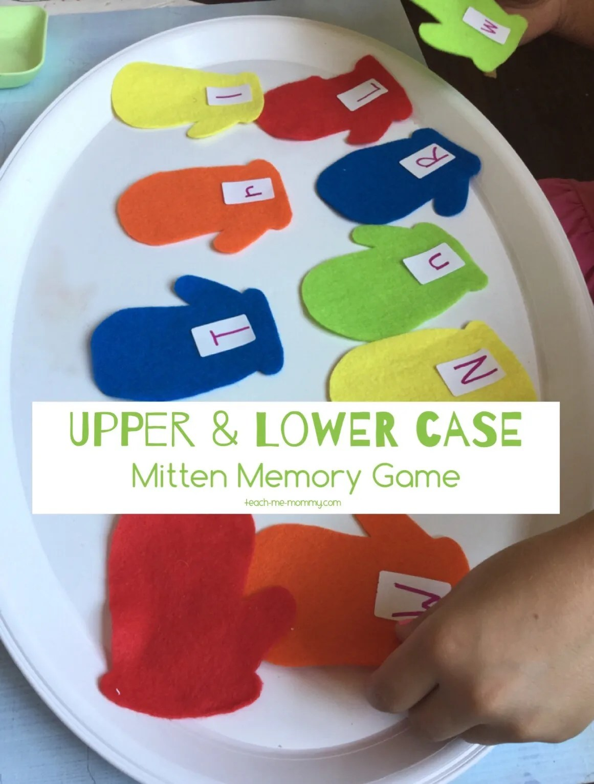 Upper Amp Lower Case Mitten Matching