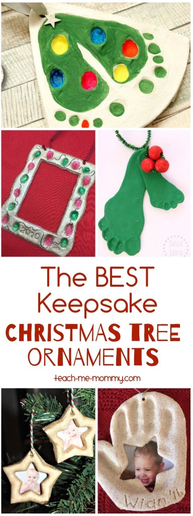 Best Keepsake Christmas Ornaments Teach Me Mommy