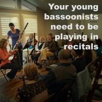 Young Bassoon Students Need Recitals