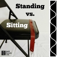 Standing vs. Sitting