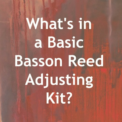 Basic Reed Adjusting Kit