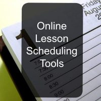Online Lesson Scheduling Tools