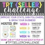 TPT {Seller} Challenge!!