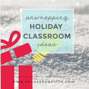 Counting Down 'til the Big Day: {Holiday Themed Math!}