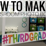 DIY Classroom Photo Booth