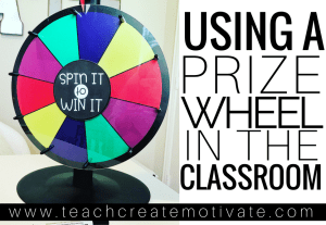 Using a Prize Wheel in Your Classroom
