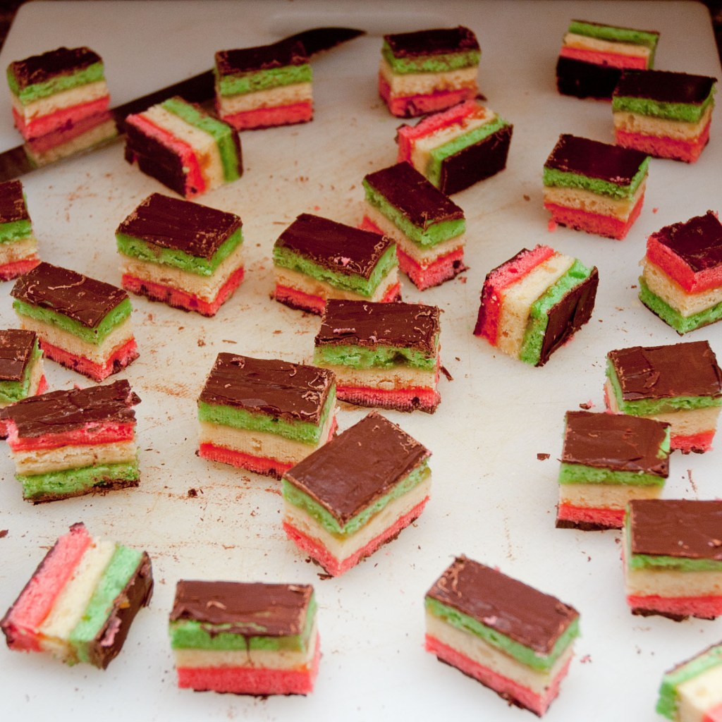 Italian Ribbon 7-Layer Rainbow Cookies
