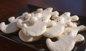 scary ghost pepper cookies