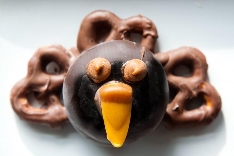 Thanksgiving Craft Chocolate Turkey