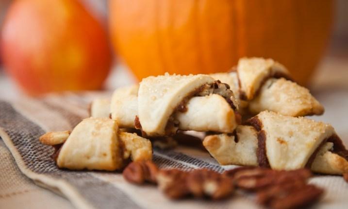 Pecan Pumpkin rugelach