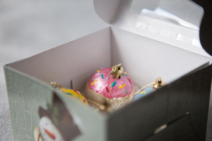 giftable cupcake ornaments
