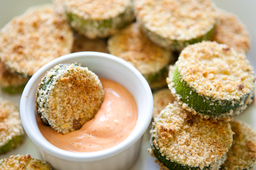 Baked Zucchini Chips |via Teacher-Chef.com 9874