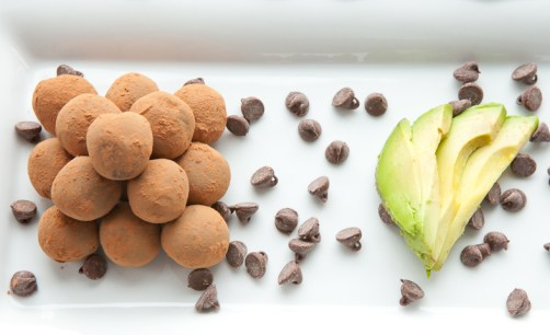 Chocolate Avocado Truffles - via teacher-chef.com-7480