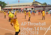 AP Rc 4 Conduct Throwball Inter District Tournament
