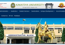 Kakatiya University Semester Fee 2018 Due Dates