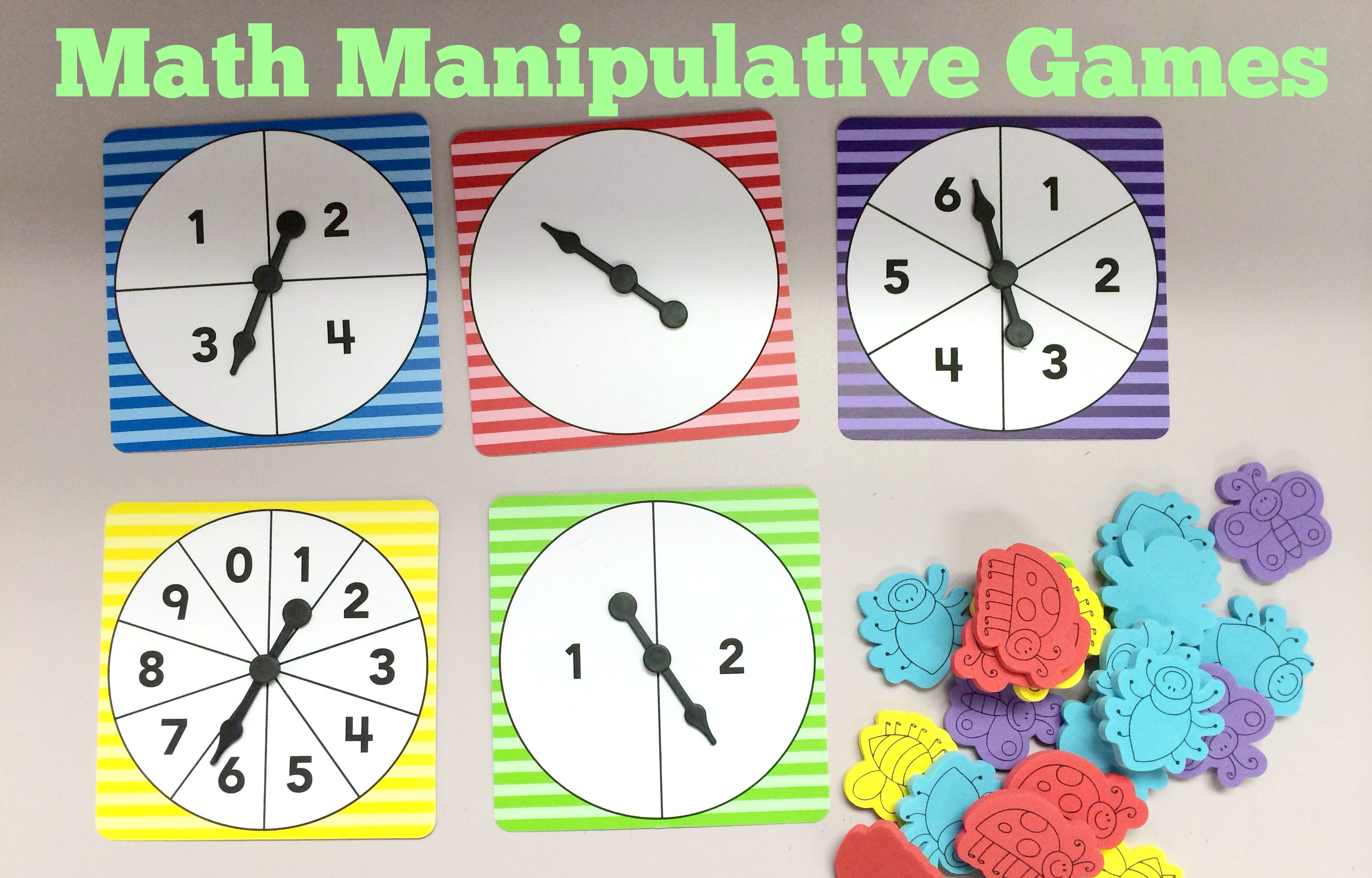 Math Manipulative Games Teacher Created Tips