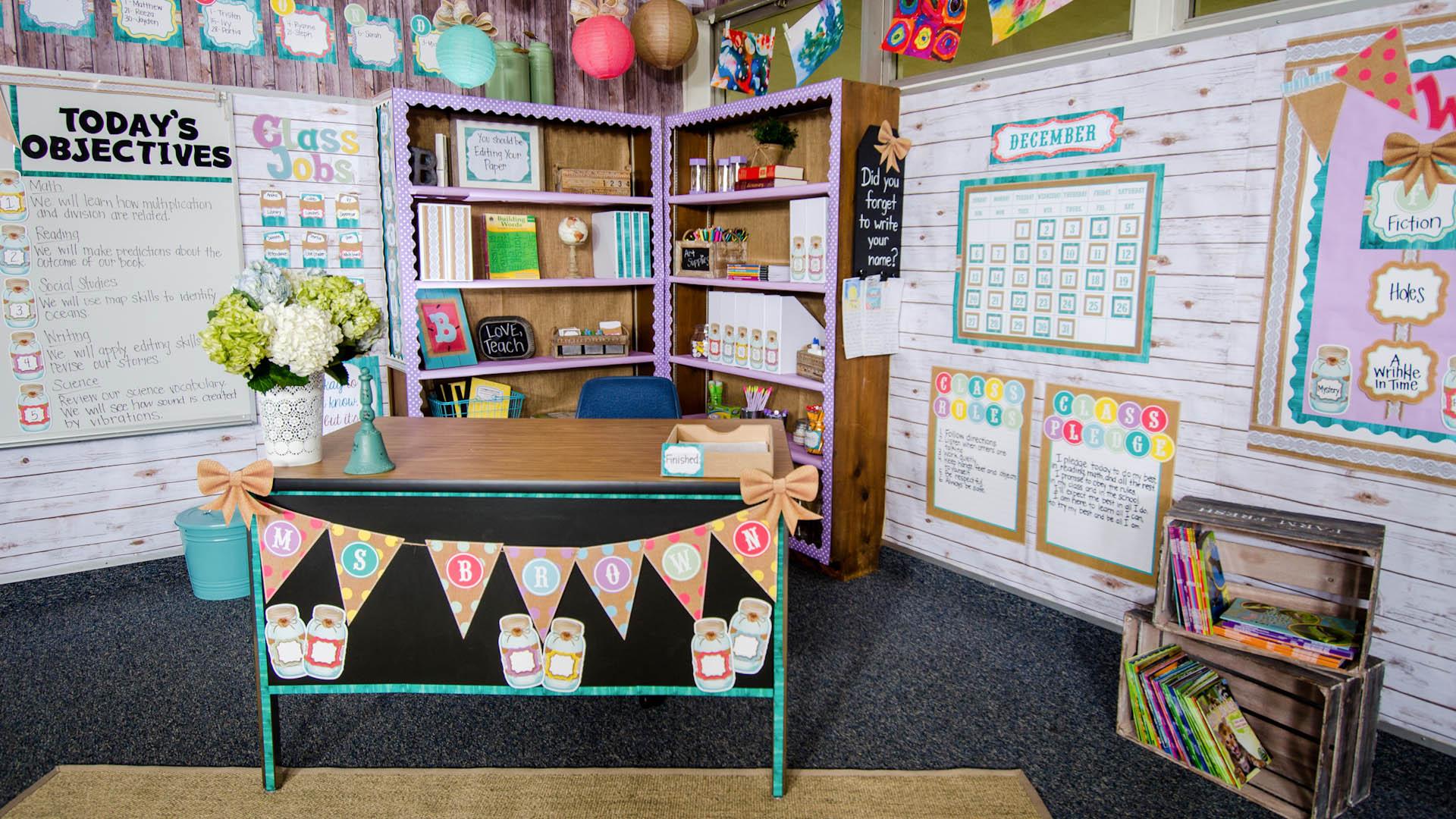 Shabby Chic Classroom Decorations Teacher Created