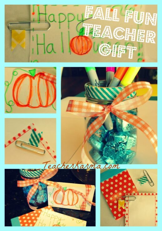 How To Make A Fall Gift In Less Than 5 Minutes Teacher Karma