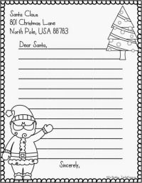 A letter to santa claus merry christmas and happy new year 2018 more from this website spiritdancerdesigns Gallery