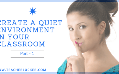 Create a quiet learning environment