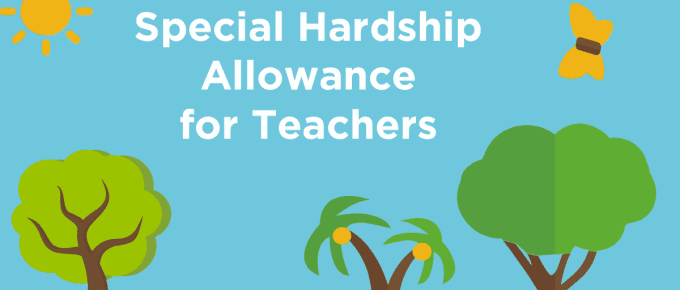 2016 Special Hardship Allowance for Teachers