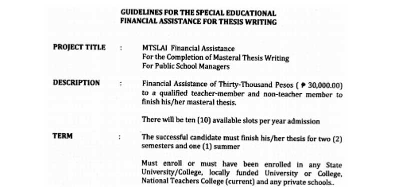Writing master thesis assistance