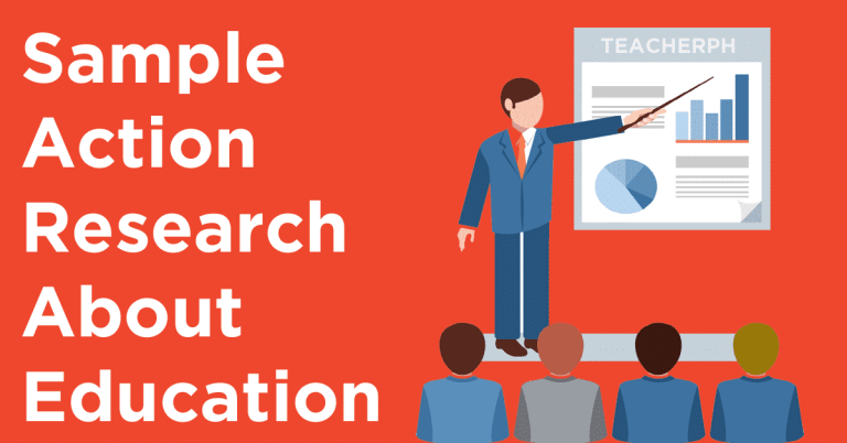 Sample Action Research About Education